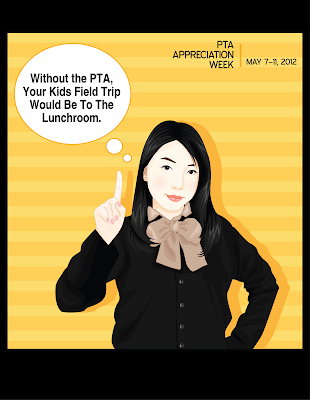 PTA Appreciation Week Poster