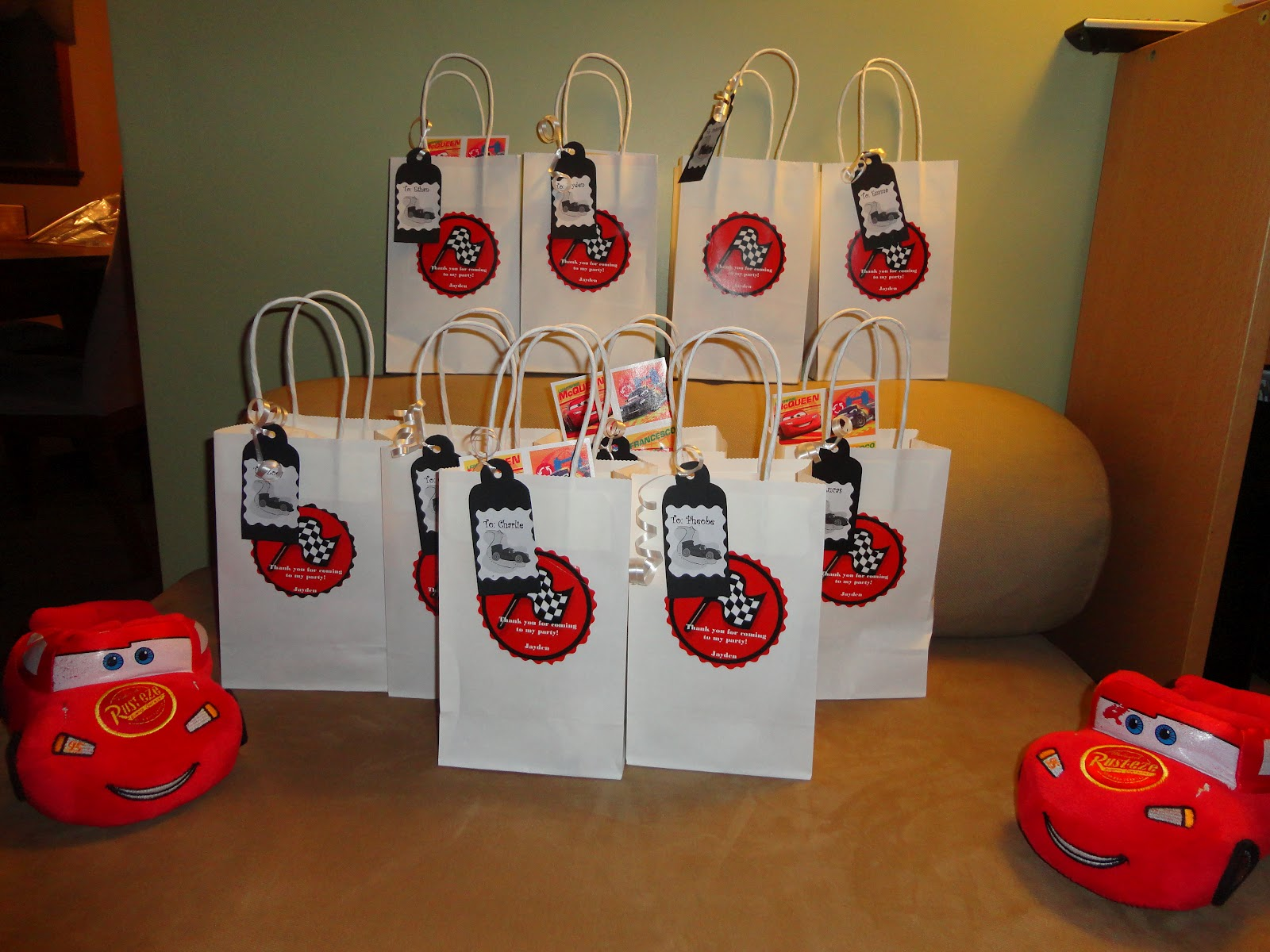Get Your Engines Ready Oh Goodie Created A Cars Themed Premier Bag