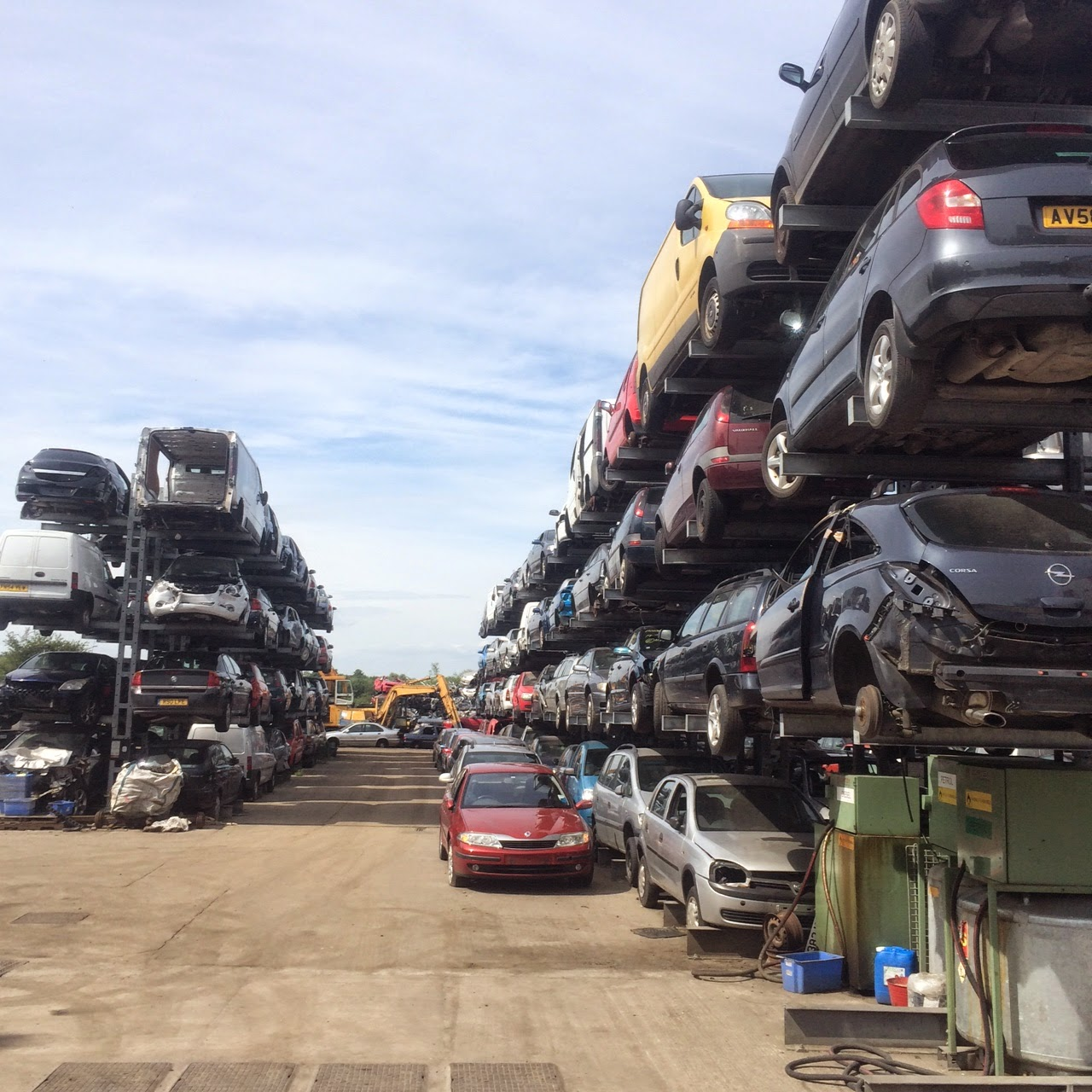 How To Scrap Your Car In Nottingham, Derbyshire And