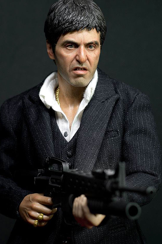 From enterbay will come this real masterpiece 1 6 scale scarface war