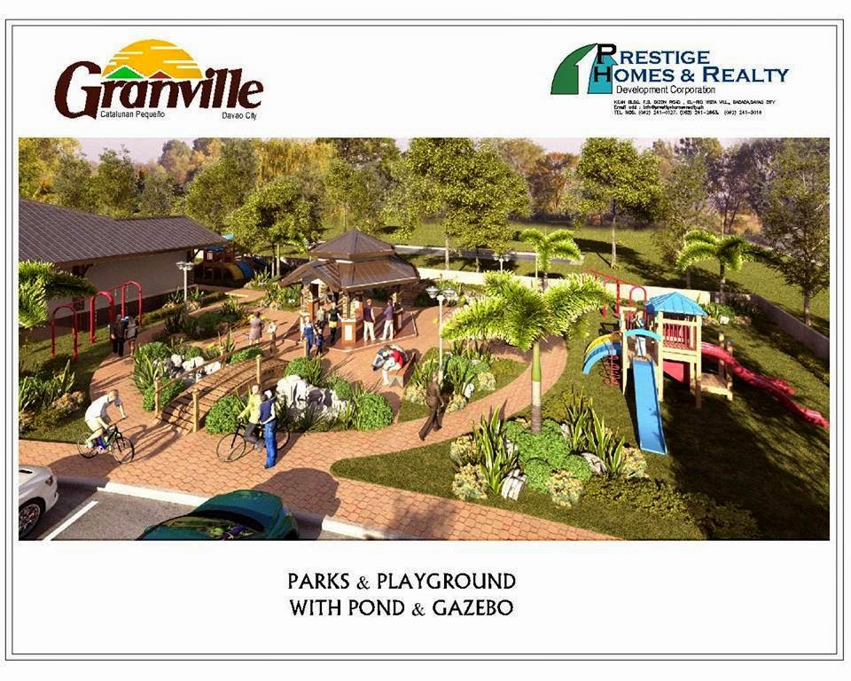 Granville Subdivisions Main Park & Playgrounds Davao City