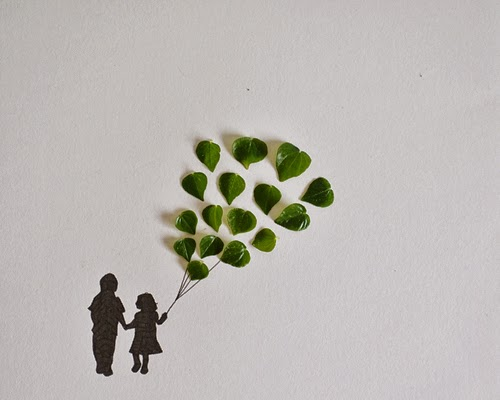 02-Couple-with-Balloons-Freelance-Illustrator-Tang-Chiew-Ling-Art-with-Leaves-www-designstack-co