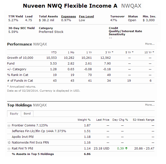 Nuveen NWQ Flexible Income Fund