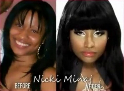 Nicki Minaj sans maquillage
