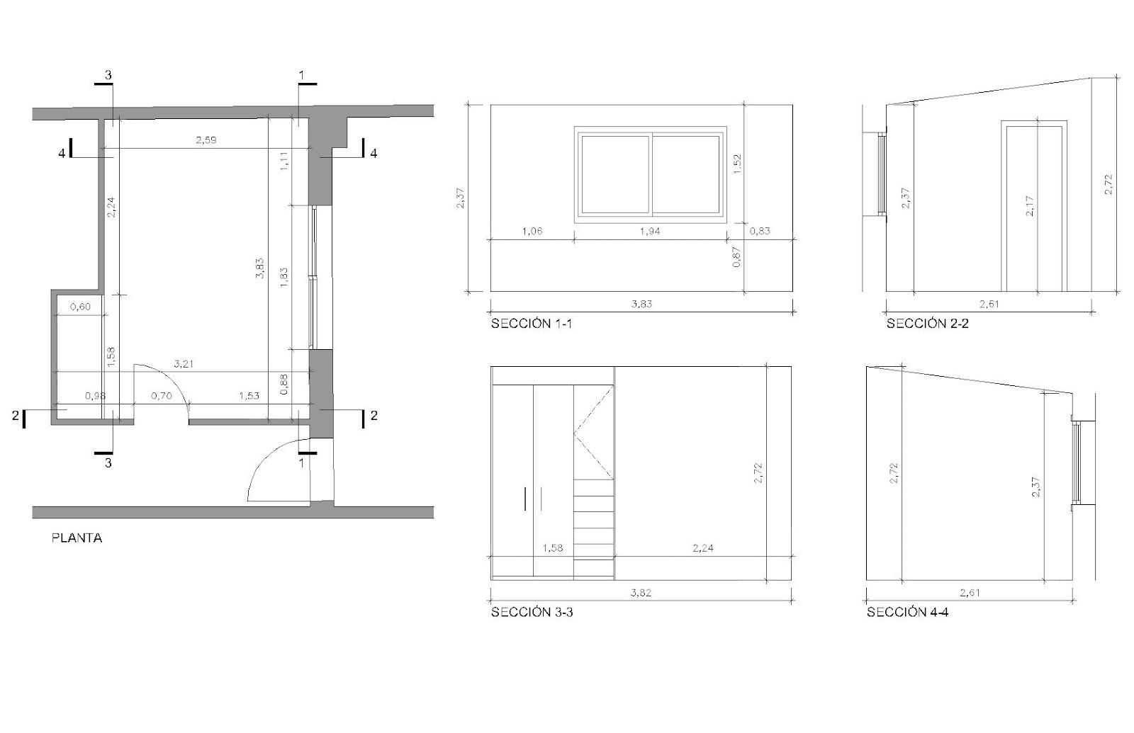 Estudio de arquitectura emearq distribuye una habitaci n Disenar habitacion ikea
