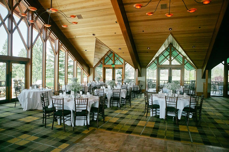 Edgewood Tahoe North Room Wedding Reception Location With A Wonderful Woodsy Feel And Awesome Lake Views