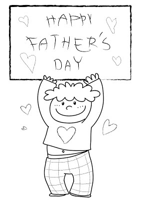 Father's Day Coloring Printables