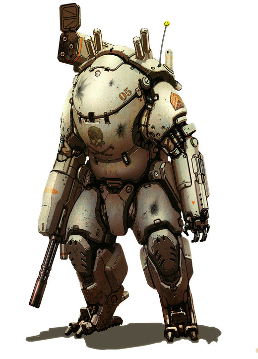 Mech suit por flyingdebris