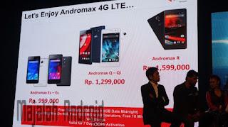 Daftar HP Smartfren Andromax 4G LTE