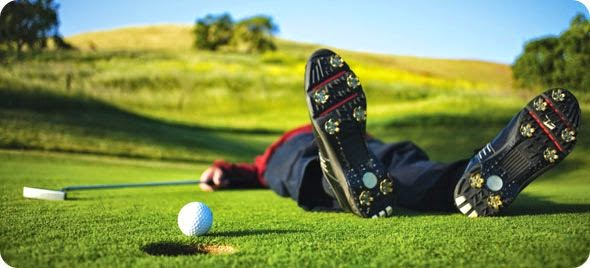 the stress release of the game of golf Golf is a very sensitive sports, where the player´s stress level affects the success  of the round high stress level has a negative impact on fine.