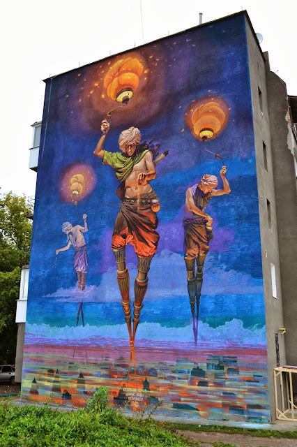 Street Art By Ukrainian Artist Alexander Grebenyuk On The Streets Of Kamianets-Podilskyi. 3