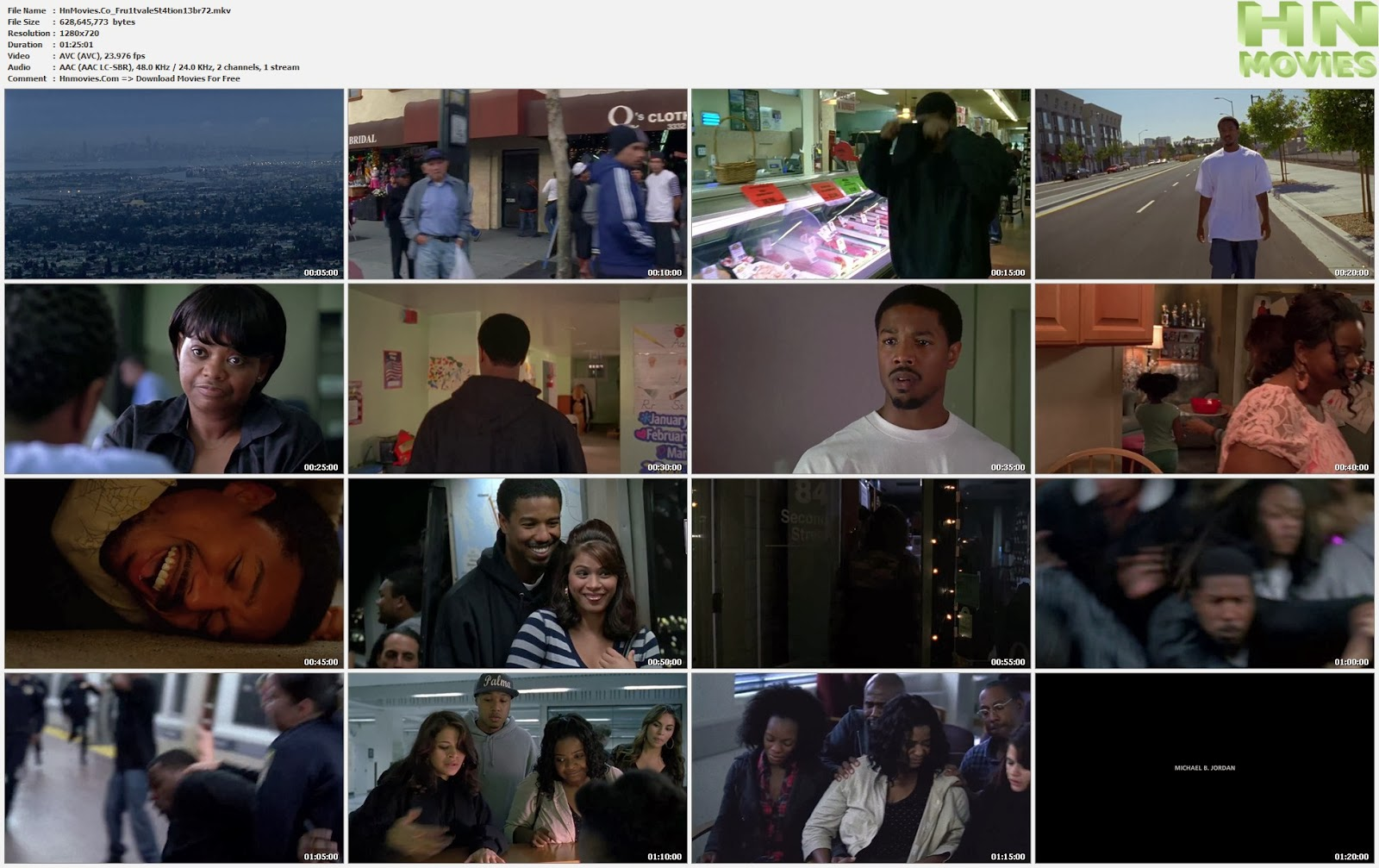 movie screenshot of Fruitvale Station fdmovie.com