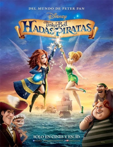 Ver Campanilla Hadas y piratas (The Pirate Fairy) (2014) Online