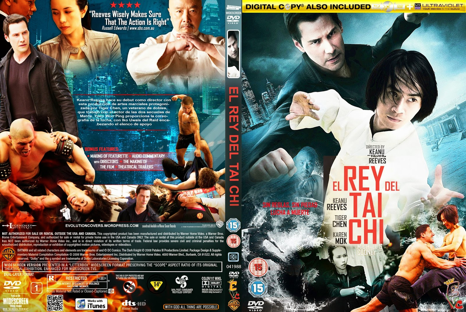 MOVIES WORLD: Man of Tai Chi (EL REY DEL TAI CHI) DVD