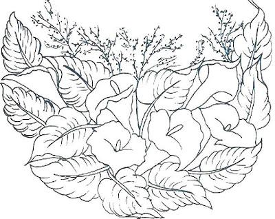 Revistas y algo mas flores para dibujar for Plantas para dibujar