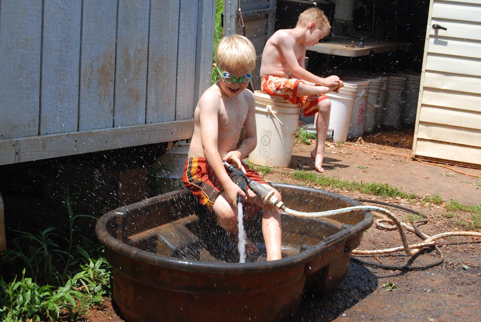 Virginiaisforlykoshes Redneck Swimming Pool