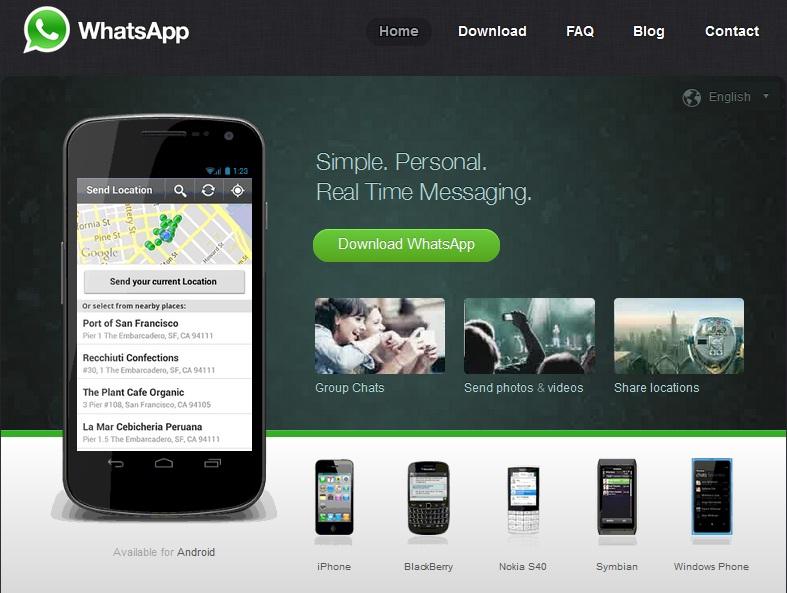 Download Whatsapp Tanpa Blackberry Worldwide