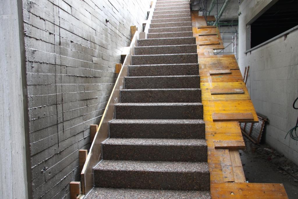 Taller brillonature guillerblog escalera con hormig n - Escalera prefabricada de hormigon ...