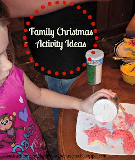 Family Christmas Activity Ideas