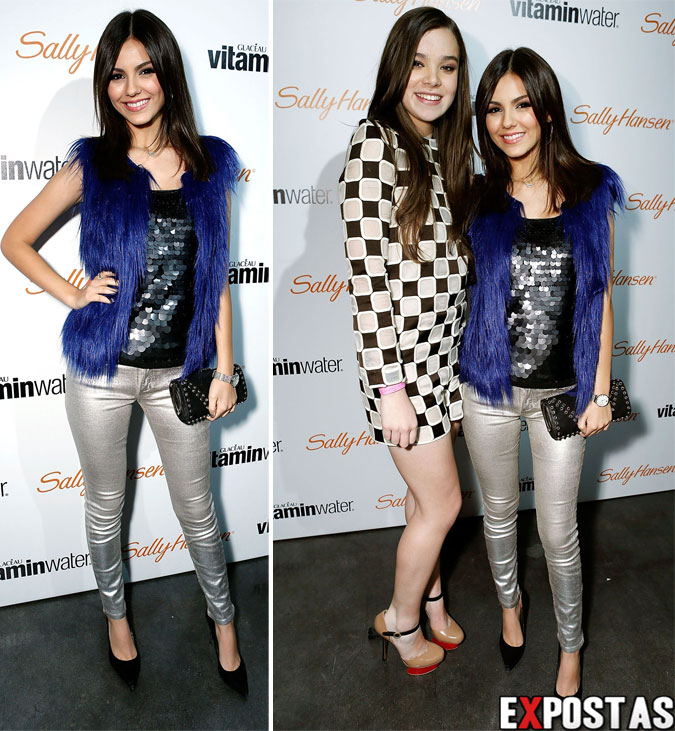 Victoria Justice: Hailee Steinfeld 16th birthday party - 17 de Dezembro de 2012