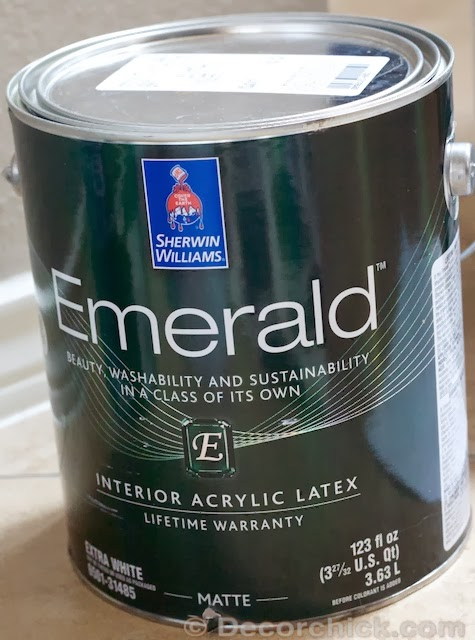 Project b st sherwin williams 39 most frequent customers for Emerald satin paint