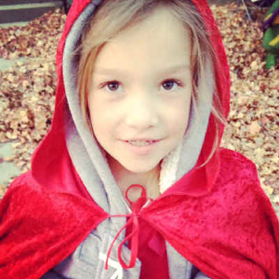 Little red riding hood costume 1