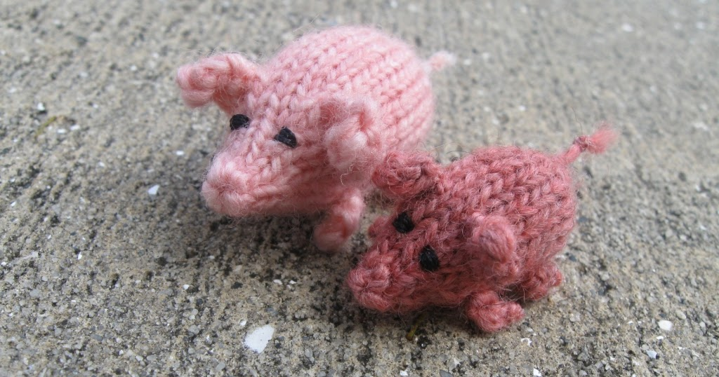 Knitting Kfb Twice : Disorderly twinings pattern a very small pig pair