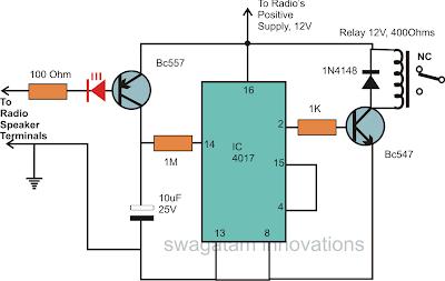 Remote Control Relay Control Circuit