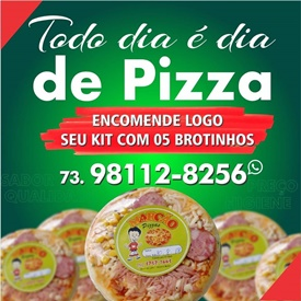 PIZZAS DO MARCÃO LANCHES.