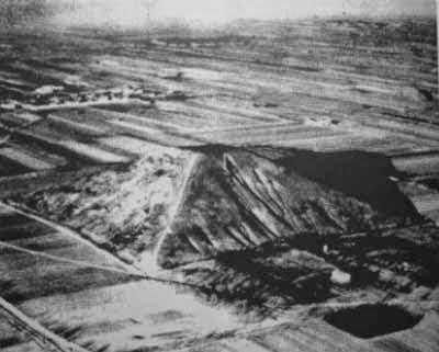 Η αεροφωτογραφία της Λευκής Πυραμίδας
