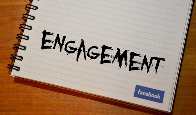 zaangazowanie na facebooku