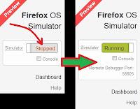 Instal OS Firefox Simulator di Komputer