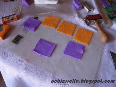 polimer kil desen yapılışı