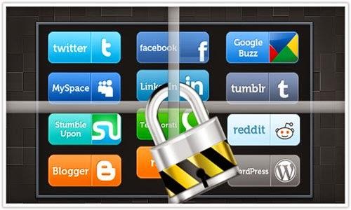 Como navegar com segurança Facebook, Twitter, Google