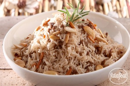 Lebanese biryani rice