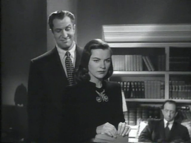 The Web Starring Ella Raines and Vincent Price