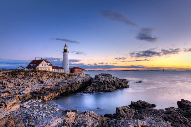 Maine Portland Head Light, Cape Elizabeth