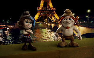 The Smurfs 2 New Characters Vexy and Hackus Paris HD Wallpaper