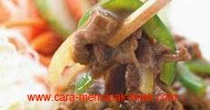 resep praktis dan mudah membuat masakan khas jepang chicken yakiniku spesial gurih, enak, lezat