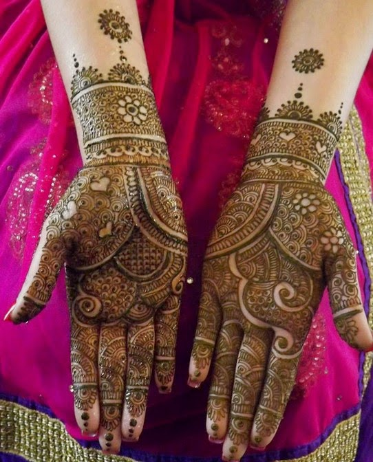 Best Bridal Mehndi Designs : Best bridal mehndi designs collection indian