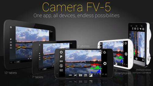 Download Camera FV-5 Apk Pro