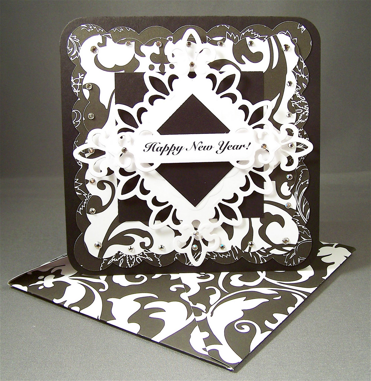 ... paper pack by Me & My Big Ideas and Spellbinders Fleur De Lis die cut