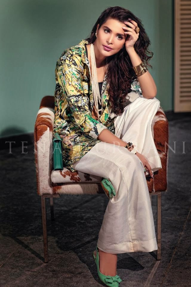 Latest lawn dress designs prints collection 2015