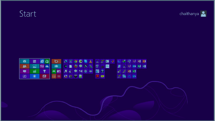 how to customise windows 8 start screen