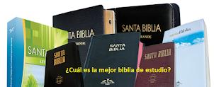 ¿CUAL ES LA MEJOR BIBLIA?