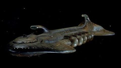 Infinity Starship from Galaxina