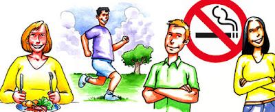 Lakukan Pola Hidup Sehat dan Hindari Kebiasaan Buruk