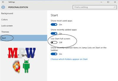 start personalization