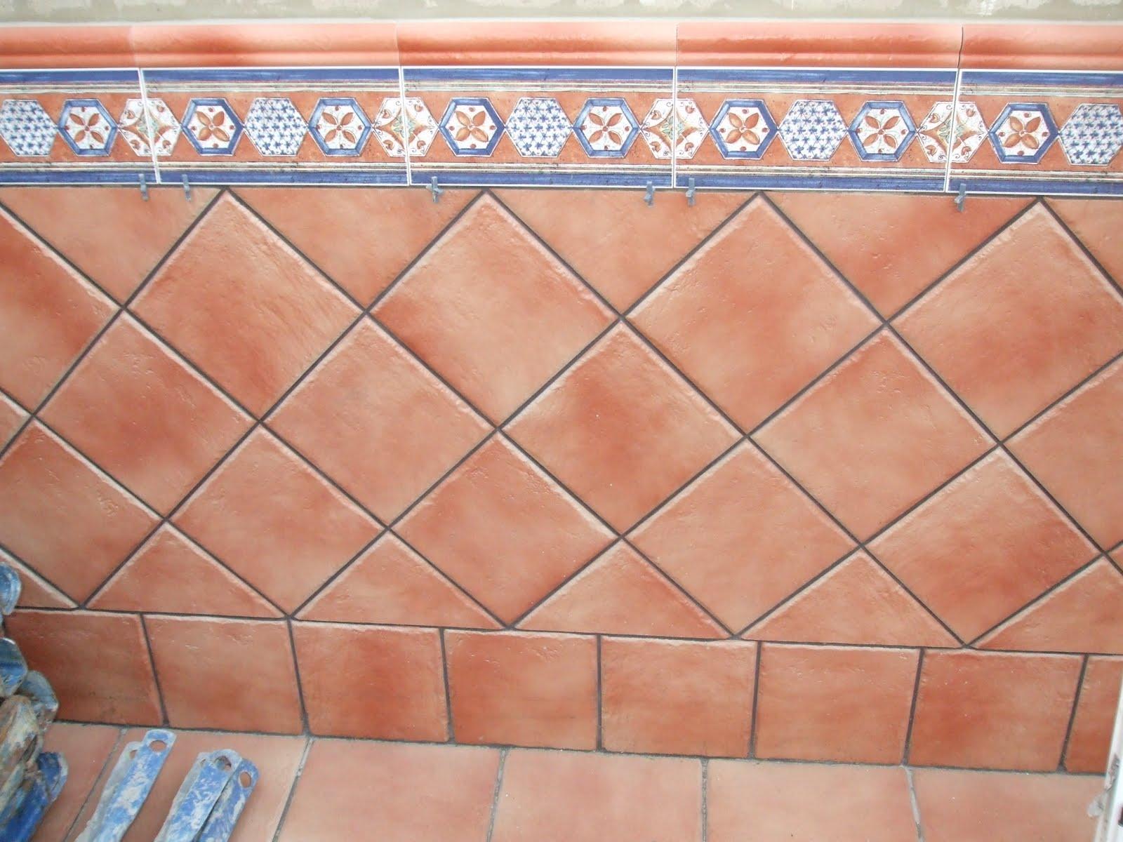 Azulejos alicatados y alicatadores alicatado de cocina for Azulejos para patios rusticos