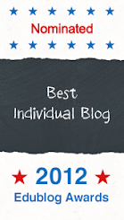 EduBlog Awards 2012: Individual